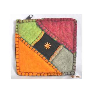 Felt purse FBP-048