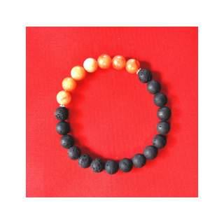 Lava Bead Bracelets FBA-408