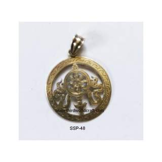 92.5 Sterling Silver Pendant SSP-48