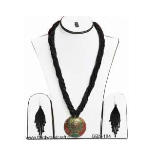 Necklace with earring GBN-184