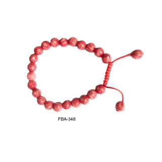 Red Onyx Bangle FBA-348