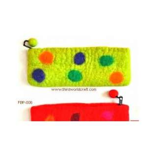 Felt Pencil Case Purse FBP-06
