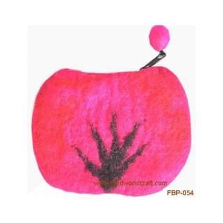 Felt purse FBP-054