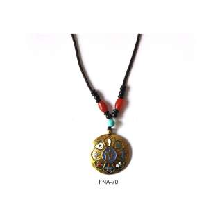Metal Pendant Necklace FNA-70