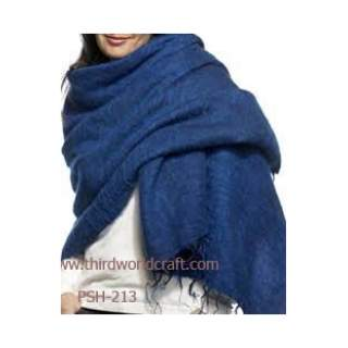 Yakwool plain shawl psh-213