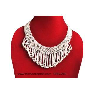 Glass Bead Necklace GBN-240