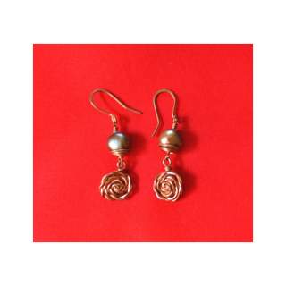 Brass Fashion Earring GSE-152