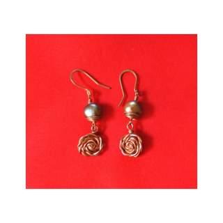 Brass Fashion Earring GSE-152