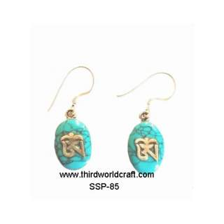 Turquoise Earing SSP-85