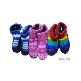 Woolen Baby Shoe WCA-188