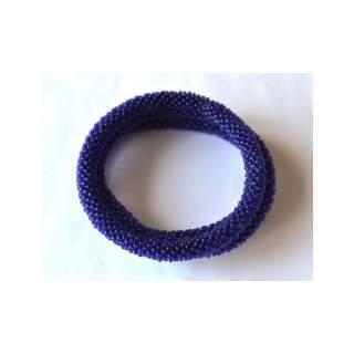 Blue solid Bracelets sol-104