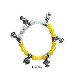Onyx Bead Bracelets FBA-355