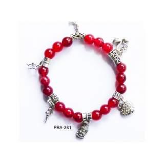 Onyx Bead Bracelets FBA-361