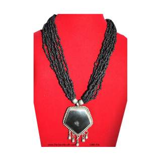 Bead Necklace Pendant GBN-256