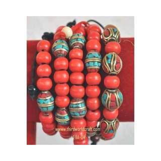 Metal Bead Bracelets FBA-04