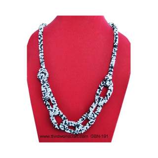 Glass Bead Necklace GB-191