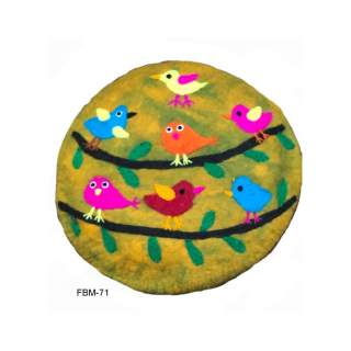 Felt  Wool Cushion  FBM-71