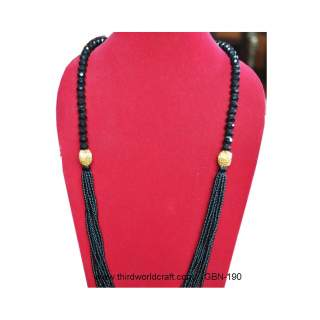 Bead necklace GBN-190
