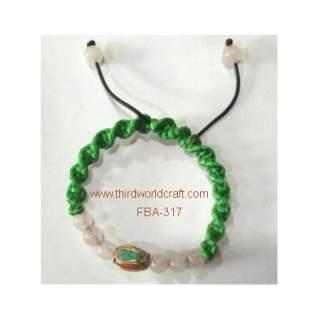 Bead Knot Bracelets FBA-317