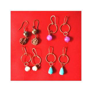 Copper Fashion Earring Assorted GSE-148