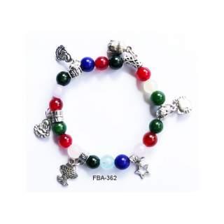 Onyx Bead Bracelets FBA-362