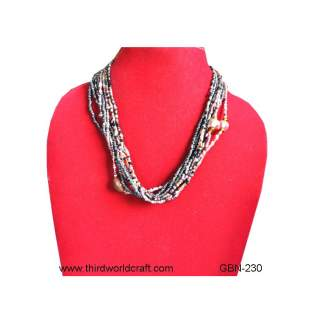 Bead Short Necklace GBN-230