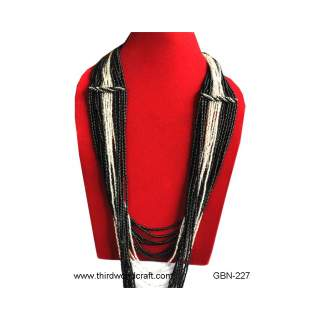 Glass Bead Necklace GBN-227